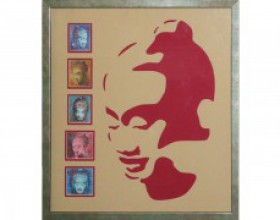 Buddha Face Cutting Frame